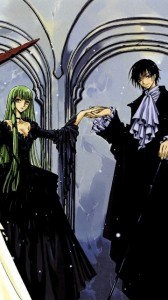Code Geass Akito the Exiled.С.C. Nokia N97 wallpaper.Lelouch.360x640