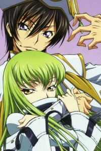 Code Geass Akito the Exiled.С.C. Sony ST27i Xperia wallpaper.Lelouch.320x480