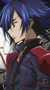 Code Geass Akito the Exiled.Akito Hyuga Nokia E7 wallpaper.360x640
