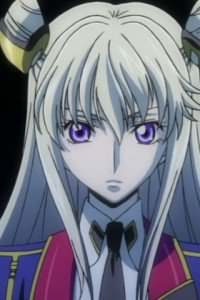 Code Geass Akito the Exiled.Leila Malkal LG E510 Optimus wallpaper.320x480