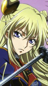 Code Geass Akito the Exiled.Leila Malkal Nokia C7 wallpaper.360x640