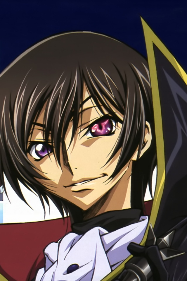 Code Geass Akito The ExiledLelouch IPhone 4 Wallpaper640x960 1