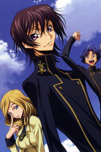 Code Geass Akito the Exiled.Lelouch iPhone 4 wallpaper.Shirley Fenette.640x960