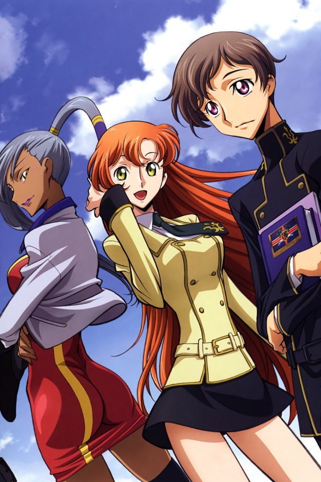 Code Geass Akito the Exiled.Rolo Lamperouge iPhone 4 ...