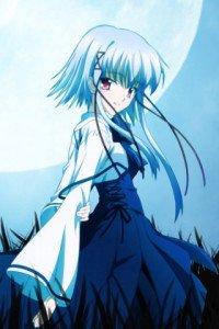 Sola.Aono Morimiya Magic THL A1 wallpaper.320x480
