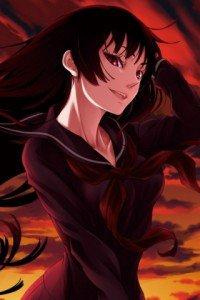 Tasogare Otome x Amnesia.Yuko Kanoe Magic THL A1 wallpaper.320x480 (2)
