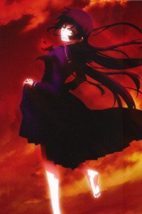 Tasogare Otome x Amnesia.Yuko Kanoe Magic THL A1 wallpaper.320x480