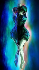 Tasogare Otome x Amnesia.Yuko Kanoe Nokia 5228 wallpaper.360x640