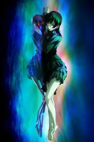 Tasogare Otome x Amnesia.Yuko Kanoe Sony ST21i Xperia wallpaper.320x480