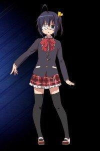 Chunibyo Demo Koi ga Shitai.Rikka Takanashi HTC Wildfire wallpaper.320x480