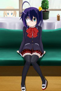 Chunibyo Demo Koi ga Shitai.Rikka Takanashi iPhone 4 wallpaper.640x960 (1)