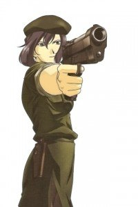 Madlax.Limelda Jorg Magic THL A1 wallpaper.320x480