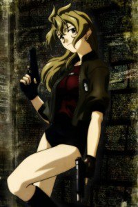 Madlax.Madlax LG E510 Optimus wallpaper.320x480 (1)