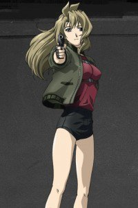 Madlax.Madlax LG E615 Optimus L5 wallpaper.320x480