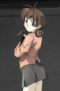 Madlax.Margaret Burton Magic THL A1 wallpaper.320x480