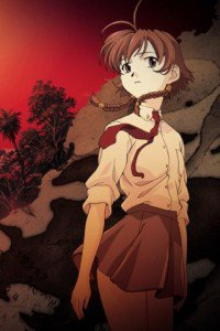 Madlax.Margaret Burton Magic W660 wallpaper.320x480