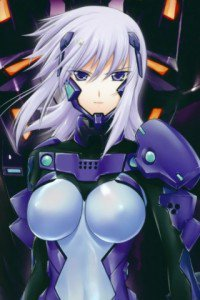Muv-Luv Alternative Total Eclipse.Cryska Barchenowa Sony ST23i Xperia wallpaper.320x480