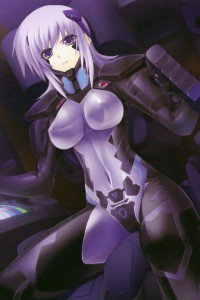 Muv-Luv Alternative Total Eclipse.Cryska Barchenowa iPhone 4 wallpaper.640x960 (3)