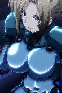 Muv-Luv Alternative Total Eclipse.Fikatsia Latrova iPhone 4 wallpaper.640x960 (1)