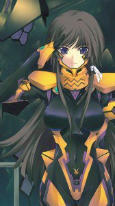 Muv-Luv Alternative Total Eclipse.Yui Takamura HTC One X wallpaper.720x1280