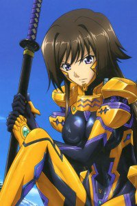 Muv-Luv Alternative Total Eclipse.Yui Takamura iPhone 4 wallpaper.640x960 (15)