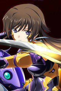 Muv-Luv Alternative Total Eclipse.Yui Takamura iPhone 4 wallpaper.640x960 (6)