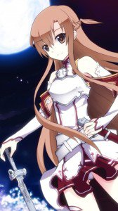 Sword Art Online.Asuna HTC One X wallpaper.720x1280 (4)