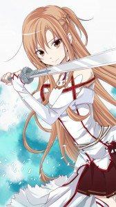 Sword Art Online.Asuna Sony LT28H Xperia ion wallpaper.720x1280 (3)