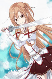 Sword Art Online.Asuna iPhone 4 wallpaper.640x960 (20)