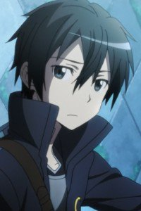 Sword Art Online.Kirito LG E615 Optimus L5 wallpaper.320x480