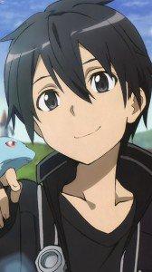 Sword Art Online.Kirito Sony LT26i Xperia S wallpaper.720x1280