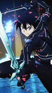 Sword Art Online.Kirito Sony LT28H Xperia ion wallpaper.720x1280 (1)