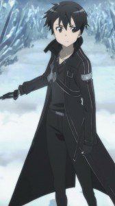 Sword Art Online.Kirito Sony LT28H Xperia ion wallpaper.720x1280
