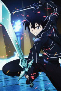 Sword Art Online.Kirito iPhone 4 wallpaper.640x960 (2)