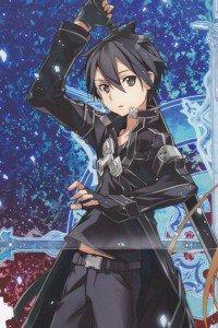 Sword Art Online.Kirito iPhone 4 wallpaper.640x960