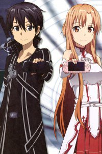 Sword Art Online.Kirito iPhone 4 wallpaper.Asuna.640x960 (1)