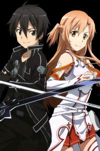 Sword Art Online.Kirito iPhone 4 wallpaper.Asuna.640x960 (4)