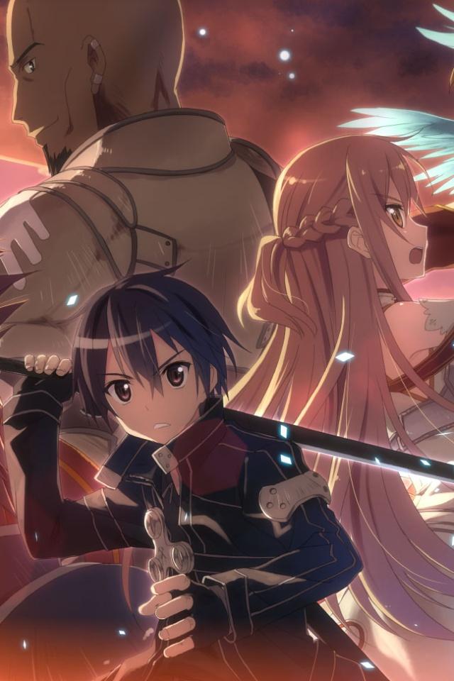 Sword art online kirito iphone 4 wallpaper - Sword art online wallpaper 720x1280 ...