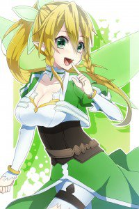 Sword Art Online.Lyfa iPhone 4 wallpaper.640x960
