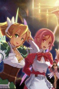 Sword Art Online.Lyfa.Lizbeth iPhone 4 wallpaper.640x960