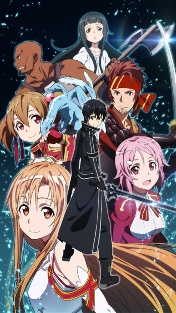 Sword Art Online 720x1280 Wallpapers Iphone 4 And Iphone 5 Wallpapers