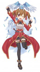 Sword Art Online.Silica HTC Windows Phone 8X wallpaper.720x1280