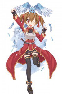 Sword Art Online.Silica iPhone 4 wallpaper.640x960