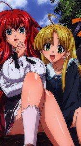 High School DxD.Rias Gremory.Asia Argento Sony LT26i Xperia S wallpaper.720x1280