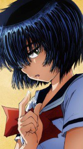 Nazo no Kanojo X (Mysterious Girlfriend X).Mikoto Urabe Sony LT26i Xperia S wallpaper.720x1280 (3)