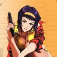 Cowboy Bebop smartphone wallpapers: Spike Spiegel, Faye Valentine, Jet Black and Julia wallpapers – different size, for Samsung Galaxy, iPhone 5, iPhone 4, Nokia! Genre: Crime Fiction, Science Fiction, Sci-Fi...