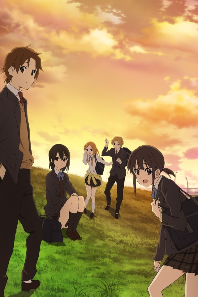 Kokoro Connect.iPhone 4 wallpaper.640x960