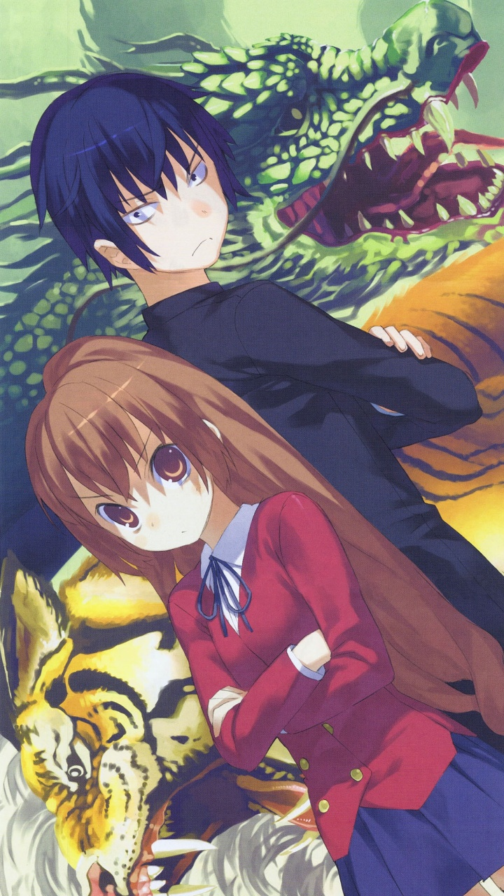 Toradora taiga aisaka ryuji takasu sony lt26i xperia s - Toradora anime wallpaper ...