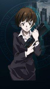 Psycho-Pass.Akane Tsunemori HTC Windows Phone 8X wallpaper.720x1280