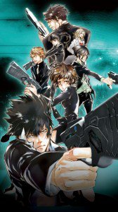 Psycho-Pass.Magic THL W3 wallpaper.720x1280